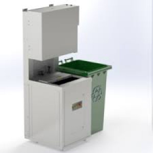 The Green Machine Vertical Food Waste Processor Industrial Food Waste Dehydrator
