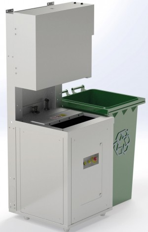 The Green Machine Food Waste Processor - Vertical Waste Station - Biowaste Pulper